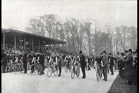 Herne Hill Velodrome in 1914